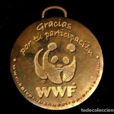Trofeos y medallas: MEDALLA DEPORTIVA WWF. MEDALLA-073 ,2. Lote 183314653