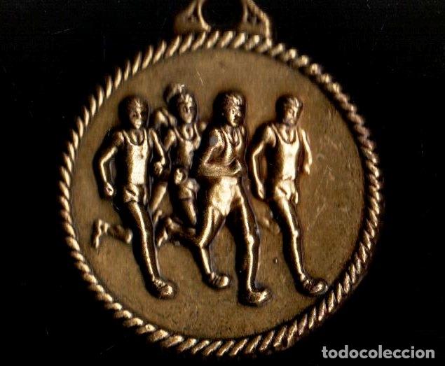MEDALLA DEPORTIVA. XXVI CARRERA ESCOLAR 2007. MEDALLA-076 (Numismática - Medallería - Trofeos y Conmemorativas)
