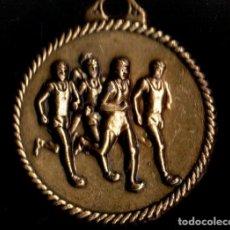 Trofeos y medallas: MEDALLA DEPORTIVA. XXVI CARRERA ESCOLAR 2007. MEDALLA-076. Lote 183324735