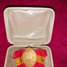 Trofeos y medallas: MEDALLA DE ORO DEL XIV CONGRESO INTERNACIONAL DE MEDICINA. 1903. Lote 183418862