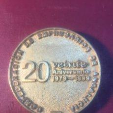 Trofeos y medallas: 20 ANIVERSARIO DE CEA,(1979/1999).. Lote 183866907