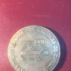 Trofeos y medallas: ASAMBLEA ESPAÑOLA DE ESCUELA DE TURISMO.(MÁLAGA).. Lote 183867062