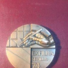 Trofeos y medallas: EXFILNA 74/ SEVILLA.. Lote 183867163