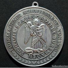 Trofeos y medallas: MEDALLA SELLO DE LOS REGIDORES DE DUREMAGEN 1320 SELLO NURENBERG ALEMANIA EN ZINC. Lote 78374917