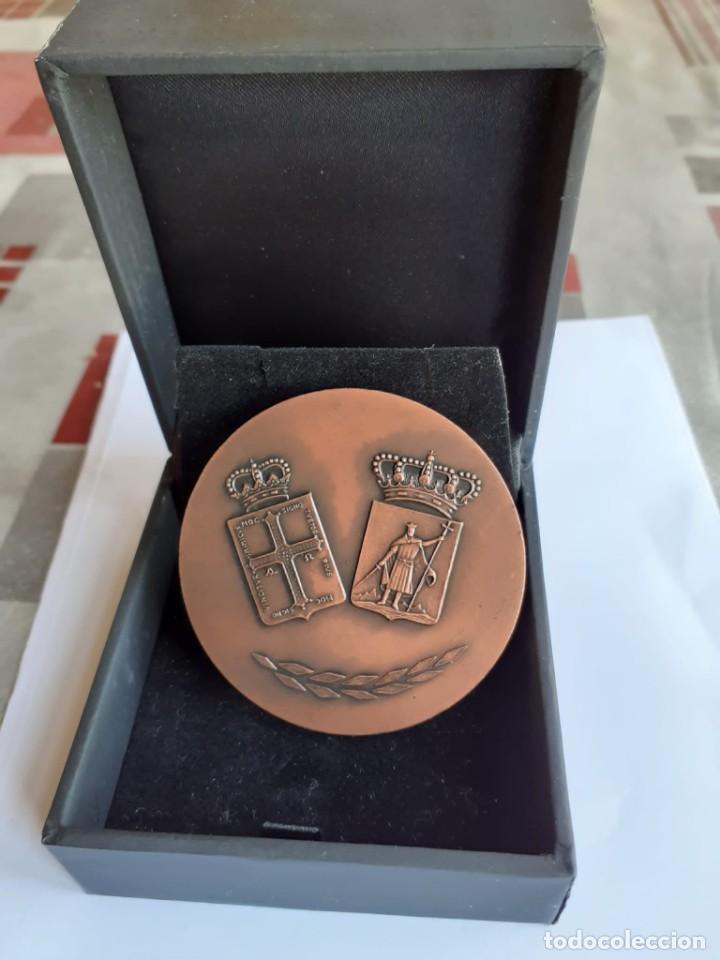 CENTENARIO JUNTA PUERTO DE GIJON (Numismática - Medallería - Trofeos y Conmemorativas)