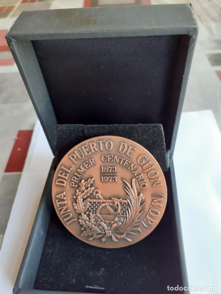 Trofeos y medallas: CENTENARIO JUNTA PUERTO DE GIJON - Foto 2 - 189409090