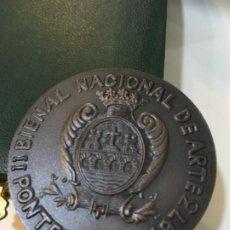 Trofeos y medallas: PONTEVEDRA. II BIENAL NACIONAL DE ARTE. 1973. Lote 189421153