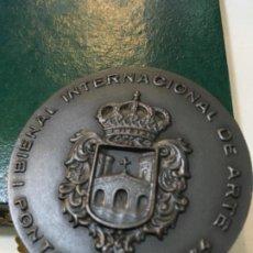 Trofeos y medallas: PONTEVEDRA. I BIENAL INTERNACIONAL DE ARTE. 1974. Lote 189421362