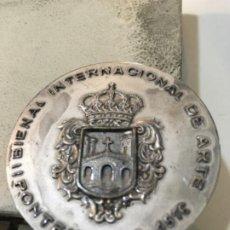 Trofeos y medallas: PONTEVEDRA. II BIENAL INTERNACIONAL DE ARTE.1976. Lote 189421502