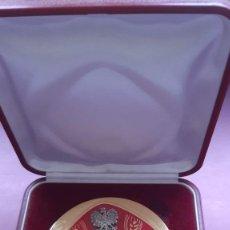 Trofeos y medallas: MEDALLA CONGRESO MUNDIAL BANCA MINORISTA ASOCIACION ARTESANOS OCTUBRE 2002 BRESLAVIA POLONIA. Lote 189885161