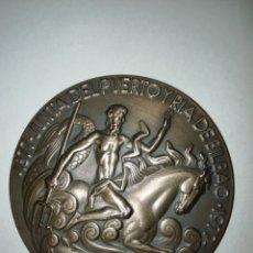 Trofeos y medallas: MEDALLA JUNTA DEL PUERTO Y RÍA DE BILBAO 1877 1977 F. J. Lote 190023233