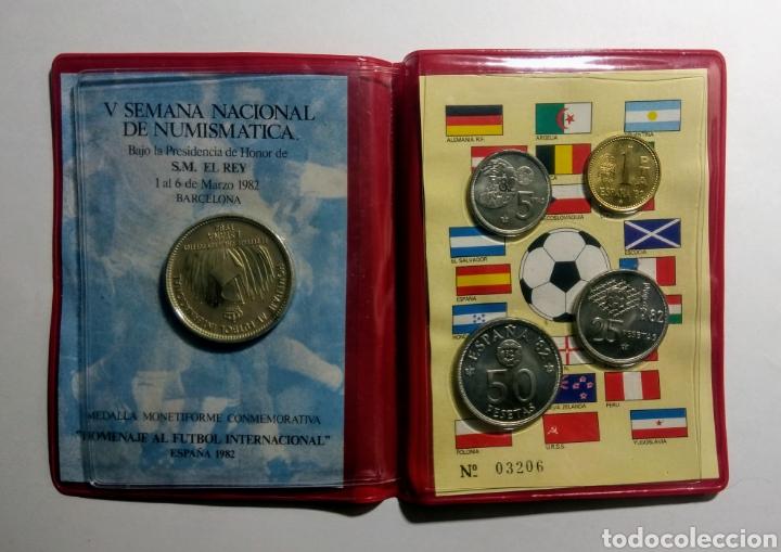 1982. CARTERA A.N.E. V SEMANA NACIONAL NUMISMÀTICA. (Numismática - Medallería - Trofeos y Conmemorativas)