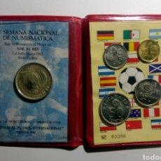 Trofeos y medallas: 1982. CARTERA A.N.E. V SEMANA NACIONAL NUMISMÀTICA.. Lote 192010935