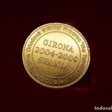 Trofeos y medallas: MEDALLA DE METAL - PAROHIA ORTODOXA SPANIA - GIRONA 2004 / 2009 ... L614. Lote 192728271