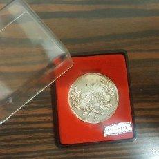 Trofeos y medallas: MEDALLA CONMEMORATIVA 25 ANIVERSARIO ZAPATILLAS PONS QUINTANA EN PLATA 800. 4CM. . Lote 192899480