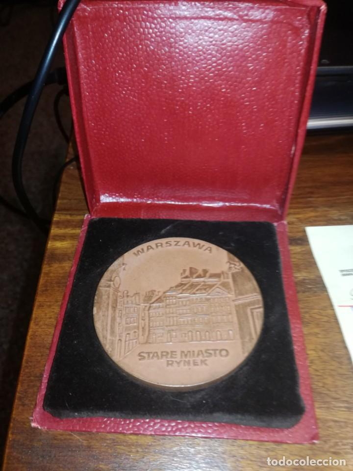 MEDALLA POLONIA (Numismática - Medallería - Trofeos y Conmemorativas)