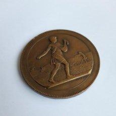 Trofeos y medallas: MEDALLA TERCERA REPUBLICA FRANCESA COMPTOIR FRANÇAIS DE L'AZOTE. Lote 194238350