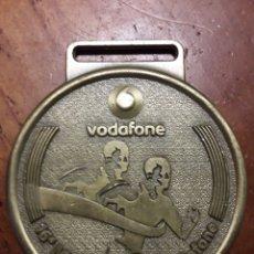 Trofeos y medallas: BRONCE MEDALLON DE MARATÓN MARATONA DE LISBOA. Lote 194239017