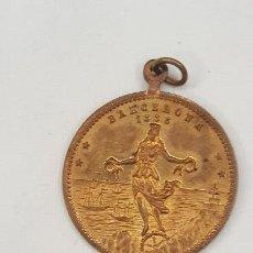 Trofeos y medallas: MEDALLA DE COBRE CONMEMORATIVA EXPOSICION UNIVERSAL DE BARCELONA 1888. 28MM.. Lote 194270886