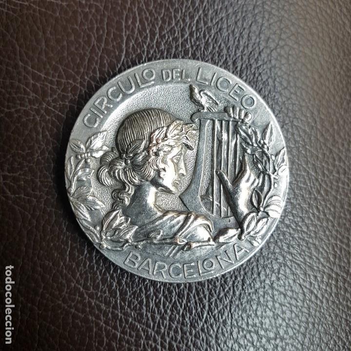 Trofeos y medallas: MEDALLA CIRCULO DEL LICEO, BARCELONA - Foto 4 - 194393230