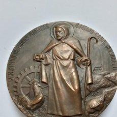 Trofeos y medallas: MEDALLA CONMEMORATIVA INAUGURACION FRANCISCO FRANCO EL ATAZAR. ABRIL 1972. Lote 194521798