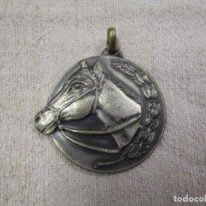 Trofeos y medallas: HIPICA CABALLOS, MEDALLA ' FESTA DELS TRAGINERS BALSARENY ' 1976 41MM 30GR METAL +INFO. Lote 194524525