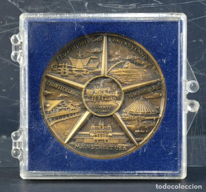 Trofeos y medallas: Medalla Walt Disney World. Souvenir - 38 mm - Foto 2 - 194616117