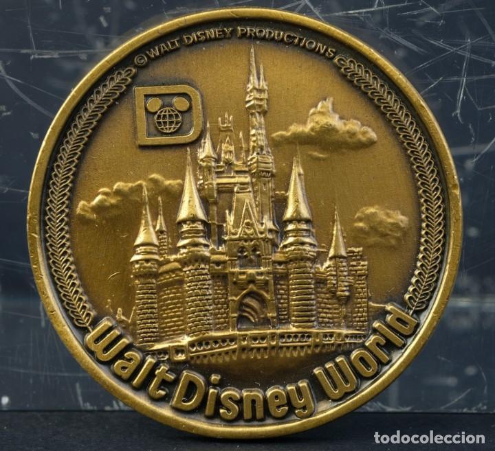 Trofeos y medallas: Medalla Walt Disney World. Souvenir - 38 mm - Foto 3 - 194616117