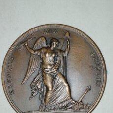 Trofeos y medallas: CONVENCION NACIONAL MÉDAILLE EN MÉMOIRE DU COMBAT DES TUILERIES. Lote 194736190