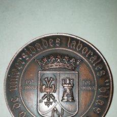 Trofeos y medallas: GRAN MEDALLA CENTRO DE UNIVERSIDADES LABORALES BLAS TELLO. Lote 194738320