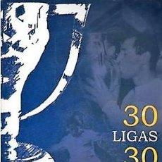 Trofeos y medallas: REAL MADRID - COLECCION COMPLETA-30 LIGAS 30 MONEDAS- A ESTRENAR Y DESPRECINTAR. Lote 194744056