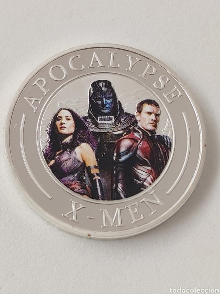 EXCLUSIVA MONEDA DE PLATA DE LOS X-MEN (Numismática - Medallería - Trofeos y Conmemorativas)
