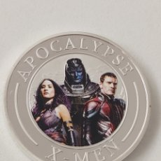 Trofeos y medallas: EXCLUSIVA MONEDA DE PLATA DE LOS X-MEN. Lote 194786553