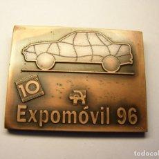 Trofeos y medallas: MEDALLA DE FIRA DE BARCELONA, EXPOMÓVIL-96, AÑO 1996.. Lote 195072865