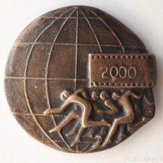 Trofeos y medallas: MEDALLA BRONCE FOTOSPORT 2000. AUTOR: RAMON FERRAN. Lote 195114716