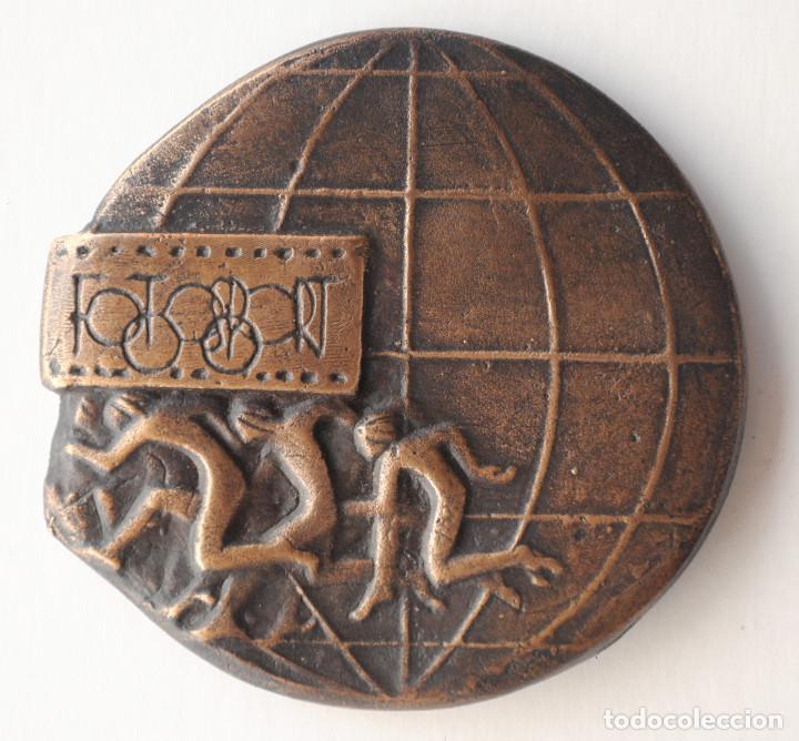 Trofeos y medallas: MEDALLA BRONCE FOTOSPORT 2000. AUTOR: RAMON FERRAN - Foto 2 - 195114716