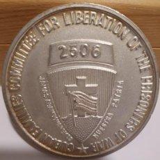 Trofeos y medallas: ESTADOS UNIDOS . CUBA BAHIA DE COCHINOS 1961 2506TH BRIGADA DE PLAYA GIRON. Lote 195312247