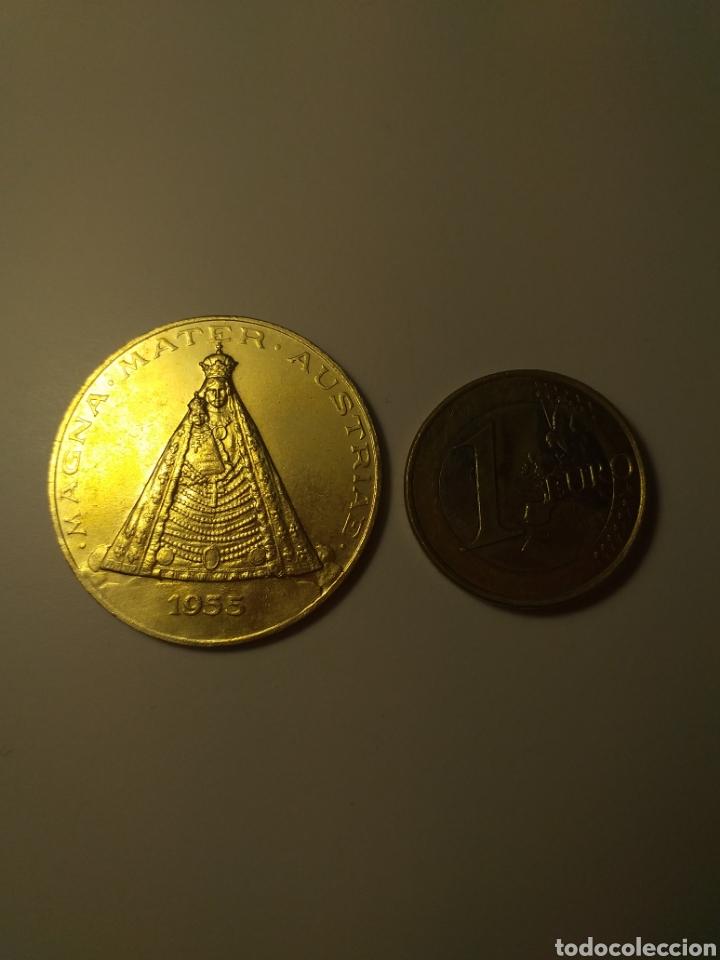 1955 - MEDALLA CONMEMORATIVA BASILIKA MARIAZELL - 1157 - 1957 MAGNA MATER AUSTRIAE (Numismática - Medallería - Trofeos y Conmemorativas)