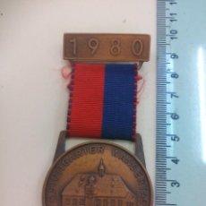 Trofeos y medallas: 4. STUTTGARTER WANDERTAG HEILBRONN. 1980. BSW. STUTTGART. MEDALLA, INSIGNIA. ALEMANIA, SENDERISMO. Lote 195465236