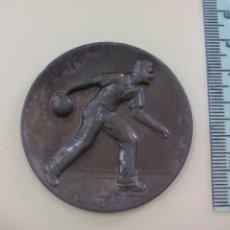 Trofeos y medallas: 1970, MEDALLA DE JUEGO DE BOLOS. MEDALLA, CREO QUE DE ALEMANIA, . Lote 195467450