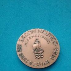 Trofeos y medallas: MEDALLA XXI SALÓN NÁUTICO DE BARCELONA 1983. CORBEYA PABLO SENSAT.. Lote 195820395