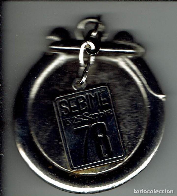 MEDALLA/PISAPAPELES CONMEMORATIVO SEBIME 1978 MAHÓN MENORCA (Numismática - Medallería - Trofeos y Conmemorativas)
