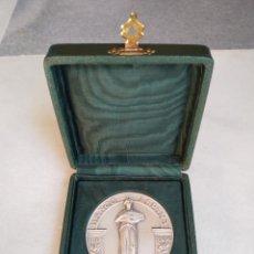 Trofeos y medallas: MEDALLA EN PLATA CONMEMORATIVA BANCO DE ESPAÑA 1956. Lote 196658110