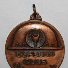 Trofeos y medallas: MEDALLA EN COBRE DEL ESPELEO CLUB SABADELL. ESPELEOLOGIA. UNIÓ EXCURSIONOSTA SABADELL (UES). Lote 198114712