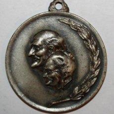 Trofeos y medallas: MEDALLA EN METAL. SACYV. CAMPAÑA PRO ARTISTA NECESITADO. SABADELL (1972). Lote 198116305