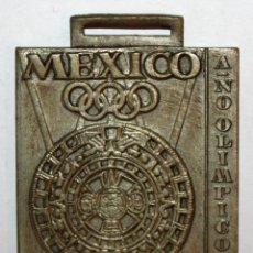 Trofeos y medallas: MEDALLA CONMEMORATIVA DE XX JUEGOS ESCOLARES NACIONALES. FED. ESP. NATACIÓN. AÑO OLIMPICO (1968). Lote 198117035