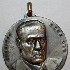 Trofeos y medallas: MEDALLA CONMEMORATIVA CONCURSO INTERNACIONAL DE PINTURA SITGES (1971). PERE JOU. FIRMADO PUJOL. Lote 198711825