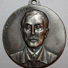 Trofeos y medallas: MEDALLA CONMEMORATIVA CONCURSO INTERNACIONAL DE PINTURA SITGES (1972). AGUSTÍ FERRÉ I PINO. PUJOL. Lote 198712070