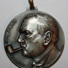 Trofeos y medallas: MEDALLA CONMEMORATIVA CONCURSO INTERNACIONAL DE PINTURA SITGES (1970). ALFRED SISQUELLA. FIRM. PUJOL. Lote 198712216
