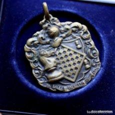 Trofeos y medallas: MEDALLA AJEDREZ, RADIO BARCELONA 1960-. Lote 199802175